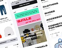Kapkan Shop E-commerce IOS App Redesign Concept