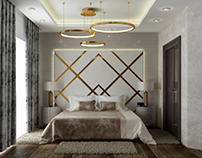 Giza villa -Master bedroom