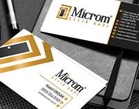 Microm Çelik Kapı Kartvizit