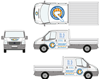 Darren Wright vehicle signage