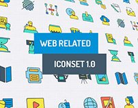 Web Related Iconset