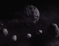 Overload: Moon Modeling and Surfacing