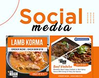 Social Media Banner Design   Daya Indian Cuisine