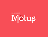 Motus - Plaquette de 3 canciones.