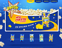Poppin Popcorn website