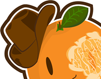 The Bruised Orange Logo