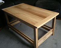Modern Scottish Pippy Oak Coffee Table