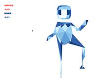 Twitter&Kinect Citizen + Virtual