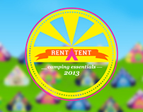 Branding: Rent A Tent