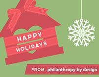 PBD Holiday Donation Card