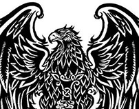 Armenian Eagle Tattoo
