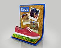 Keds Brazil POP Design