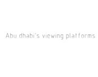 LAND ART: Abu dhabi's viewing platforms