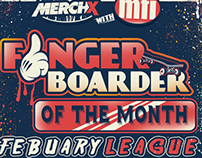 FINGERBOARDER OF THE MONTH (POSTER)
