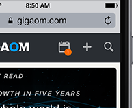 Gigaom News Redesign