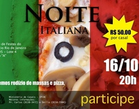 Cartaz - Noite Italiana (IPCAC)