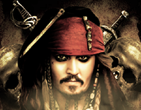 Pirates Of The Caribbean Dead Man -Poster-