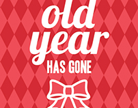 The old year has gone