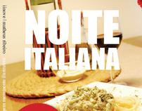 Flyer - Noite Italiana
