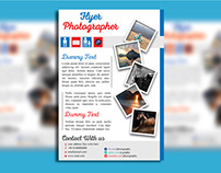 Attractive Flyer Design with Free Mockup Download