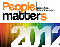 People Matters magazine design