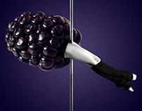 La fruta es un baile | serie collage