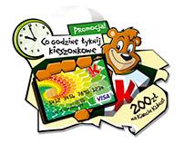 "Promotin of fruit juice for for kids ""Kubuś"""