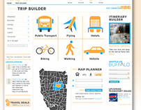 Web Design: Travel Theme