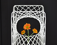 frame vase