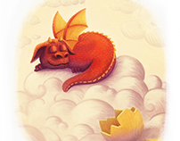Dreaming Baby Dragon