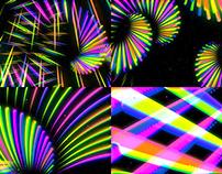 Rainbow Firework - VJ Loop Pack (3in1)