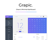 Grapic - Dashboard Freebie