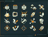 Stormland VR Iconography