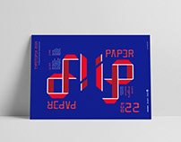 Paper Flip Typography