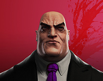 Wilson Fisk the Kingpin fanart
