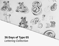 36 DAYS - LETTERING COLLECTION