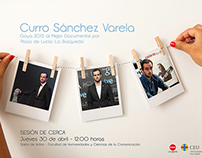 """Graphic Ad: Sesión """"De Cerca"""""""