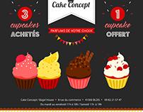 Affiche Cake Concept