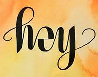 Hey Ambigram