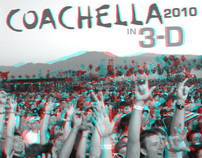 Official 3-D Photographer 2010 Coachella Music Festival