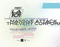 Massive Attack / Thievery Corporation Concert Design