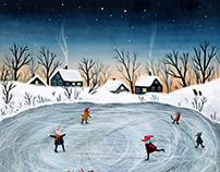 Winter drawings