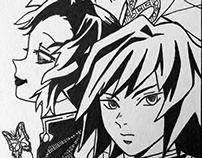 Shinobu and Giyu