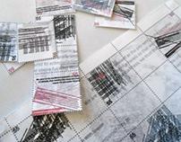 Saul Williams Stamp Sheet