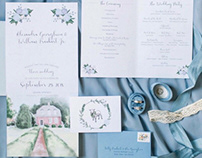 Wedding Paper Goods and Decor — Farm & Blue