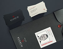 REDRUM brand identity - assassin agency