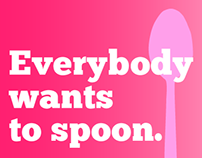 """Everybody wants to Spoon"" - Billboard Campaign"