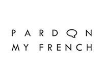 Pardon My French Logo Design
