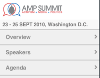 AMP Summit Mobile Website
