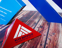 Blue Mountain - Brand Identity